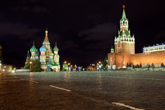 Red Square in Moscow. Russia Stock Image