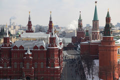 Red Square in Moscow, Russia Stock Photos