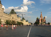 Red square in Moscow Royalty Free Stock Images