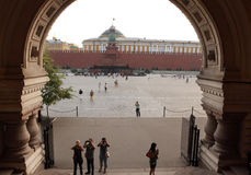 Red Square in Moscow Stock Images