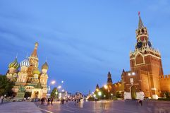 Red Square Stock Image