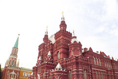 Red Square in Moscow Russia. The Famous Red Square in Moscow Russia Royalty Free Stock Photos
