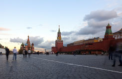 Red Square in Moscow. Russia Royalty Free Stock Photography