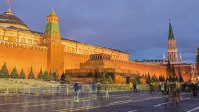 Red Square in Moscow, Russia stock footage