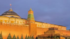 Red Square in Moscow, Russia stock video