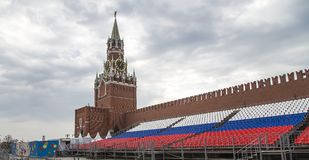 Red Square in Moscow, Russia royalty free stock photo