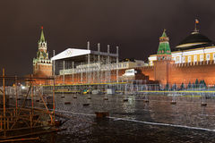Red Square Royalty Free Stock Photography