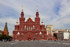 Red square in Moscow, Russian federation Stock Photos