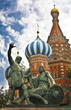 Red Square Moscow, Saint Basil's Cathedral Royalty Free Stock Photography