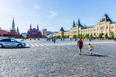 Red Square of Moscow Stock Photo