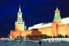 The Red Square in Moscow Royalty Free Stock Image