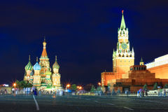 The Red Square in Moscow Stock Photos