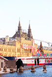 Red Square in Moscow in winter Royalty Free Stock Image
