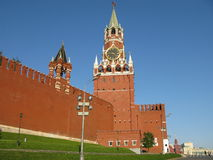 Red square Moskow. Shoot of red square, shot of historical museum, Moskow Royalty Free Stock Images