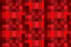 Red square pattern abstract background Royalty Free Stock Photos
