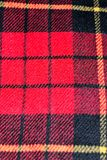 red square pattern tartan wool texture background Stock Photos