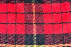 red square pattern tartan wool texture background Stock Photography