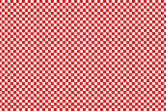 Red square pattern on white background Stock Photography