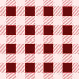 Red square seamless vintage pattern Royalty Free Stock Images
