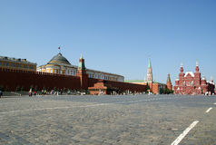 Red Square on a summer day, Moscow, Russia Stock Images