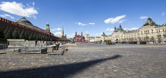 Red Square on a summer sunny day, Moscow, Russia Stock Photography