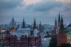 Red Square at sunset Royalty Free Stock Image