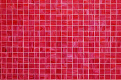 Red square tiled background Stock Photography