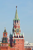 The Red Square tower Stock Photography