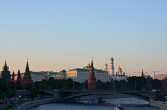 Red Square. View of the center of Moscow Royalty Free Stock Photos