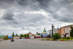 Red Square. Yelets City. Stock Photos