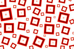 Red Squared. Squared Abstract Design royalty free illustration