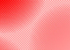 Red Squared Background Stock Photography