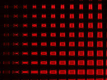 Red Squared Glow Stock Photography