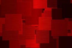 Red squares Royalty Free Stock Image
