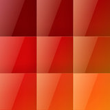 Red squares abstract background Royalty Free Stock Image