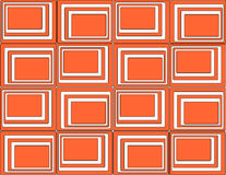 Red squares background. Retro style Royalty Free Stock Images