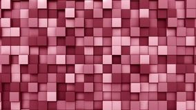 Red squares background, 3D rendering. Multiple red squares background 3D Royalty Free Stock Images