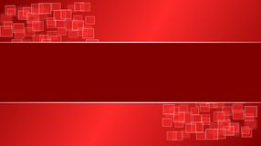Red Squares  Desktop Royalty Free Stock Images