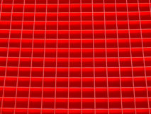 Red squares pattern Royalty Free Stock Photo
