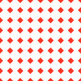Red squares on a white background seamless pattern Stock Photo