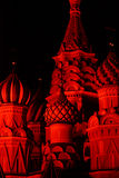 Red St. Basil Cathedral Stock Image