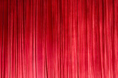 RED STAGE CURTAIN  Stock Images
