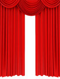 Red stage curtain. 3d high quality render Stock Photo