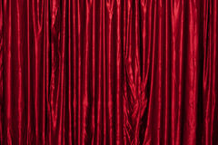 Red stage curtain texture Royalty Free Stock Image