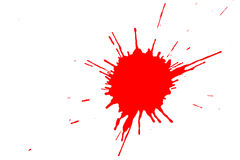 Red stain Royalty Free Stock Photography