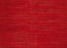 Red Stained Ribbed Natural Textured Background Royalty Free Stock Image
