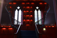 Red Staircase Royalty Free Stock Photo