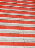 Red stairs detail Stock Photos