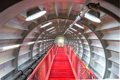 Red stairway sucessful concept Royalty Free Stock Photo
