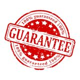Red Stamp - guarantee Royalty Free Stock Photography